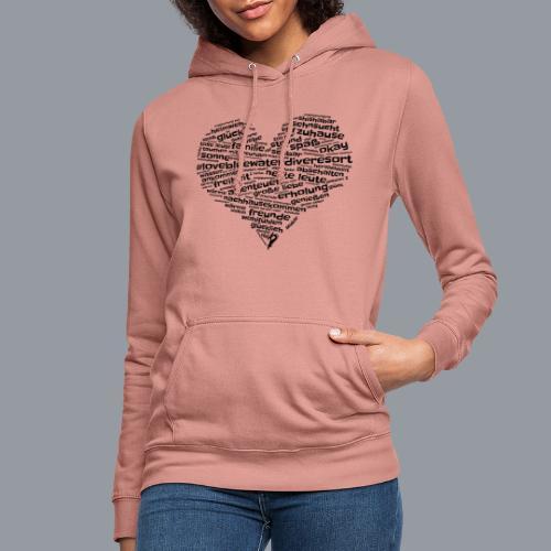 #lovebluewaterdiveresort - Frauen Hoodie