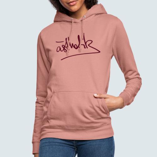 Handschrift Ästhetik - Frauen Hoodie