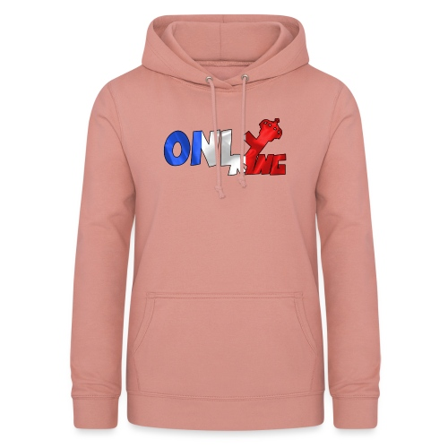 Logo ONLY KING edition francaise - Sweat à capuche Femme