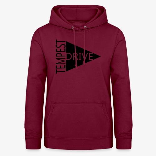 Komprimeret logo - Dame hoodie