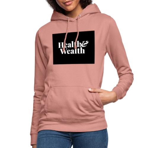 Wealth & Wealthy - Sudadera con capucha para mujer