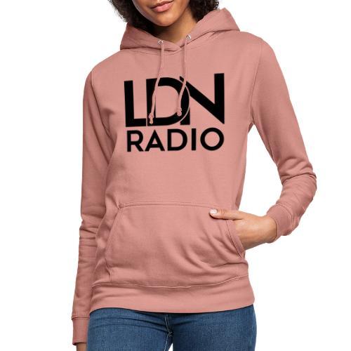 LDN Radio Logo black - Women's Hoodie