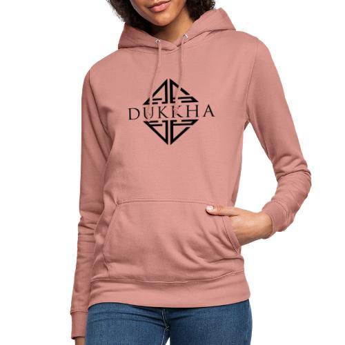 Dukkha Logo Seul Noir - Sweat à capuche Femme