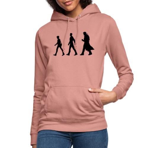 Black Title and Character design - Women's Hoodie