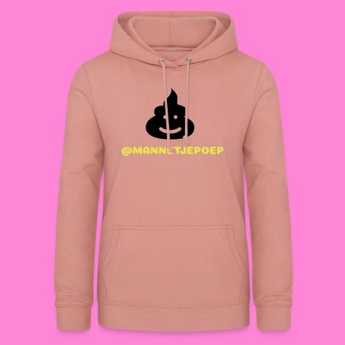 Mannetje Poep Shit - Vrouwen hoodie