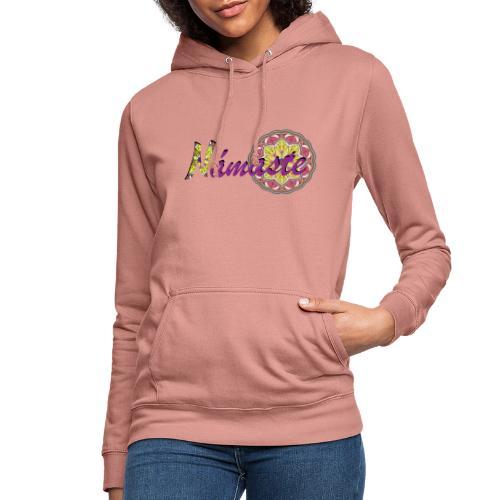 Namaste - Sudadera con capucha para mujer