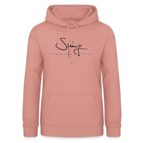Logo Springer Guitars - Sweat à capuche Femme