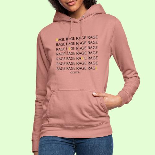 Rage - Frauen Hoodie