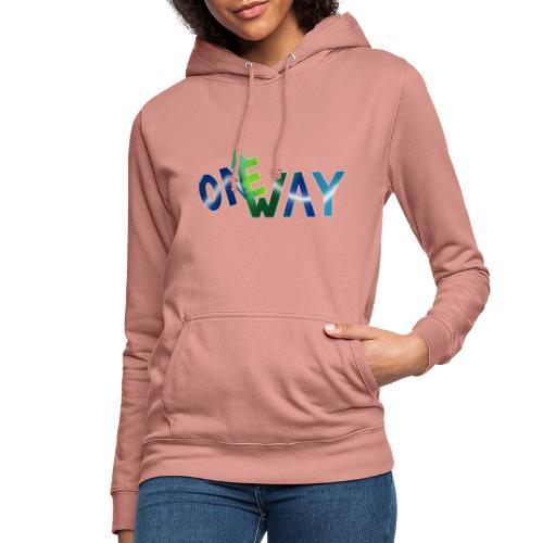 One Way - Frauen Hoodie