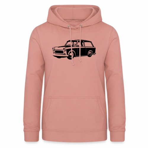 Trabant 601 Kombi Tuning - Women's Hoodie