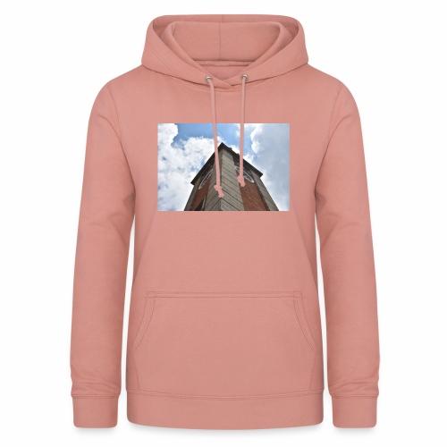 Torre dell'orologio - Felpa con cappuccio da donna