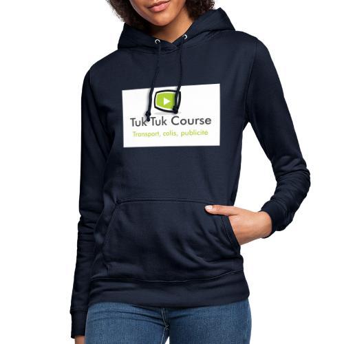 Logo tuk tuk course - Sweat à capuche Femme