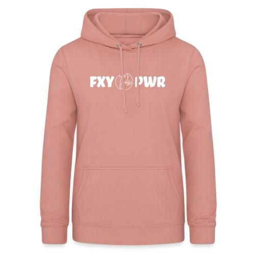 fxy_pwr_shell_logo - Frauen Hoodie