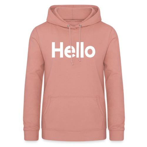 Hello#2 - Frauen Hoodie