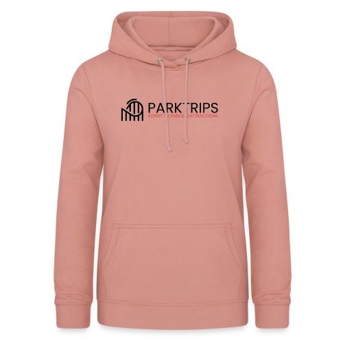 Park Trips - Logo Noir - Sweat à capuche Femme