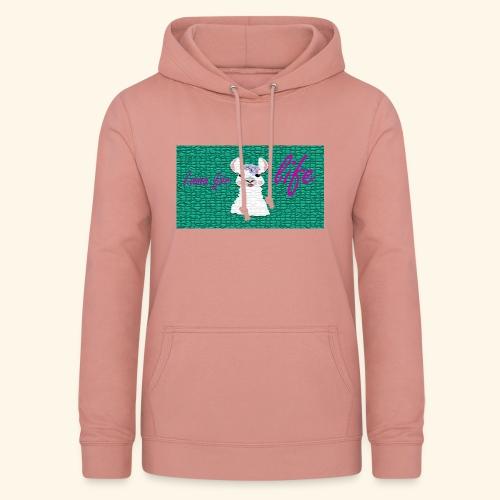 lama / alpaca - Frauen Hoodie