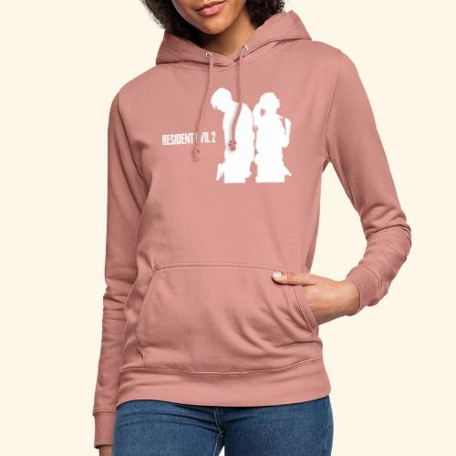 RE2 Leon Claire Logo Design - Women's Hoodie