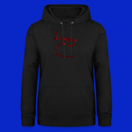 Jonny C Red Handwriting - Women's Hoodie
