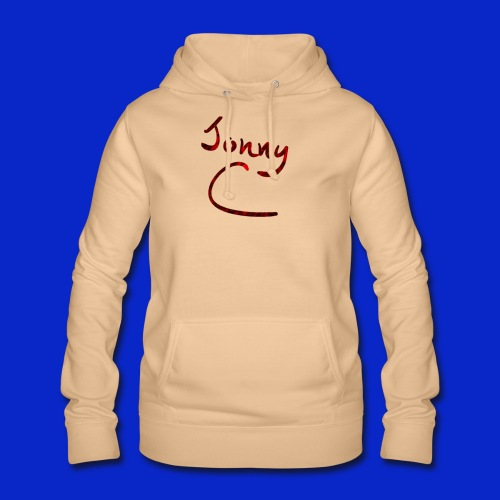 Jonny C Red Handwriting - Women's Hoodie