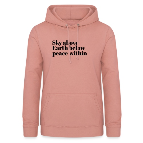 happy times - Vrouwen hoodie