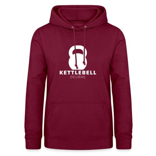 Kettlebell Deurne Wit Logo - Vrouwen hoodie