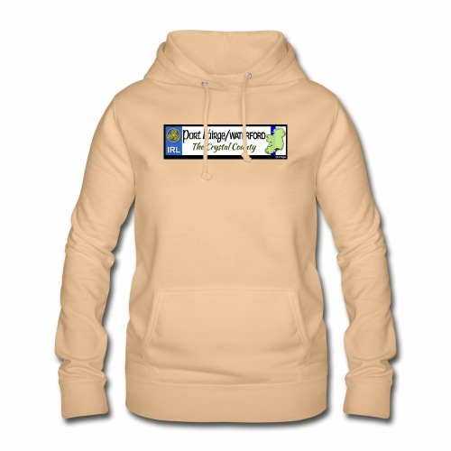 WATERFORD, IRELAND: licence plate tag style decal - Women's Hoodie