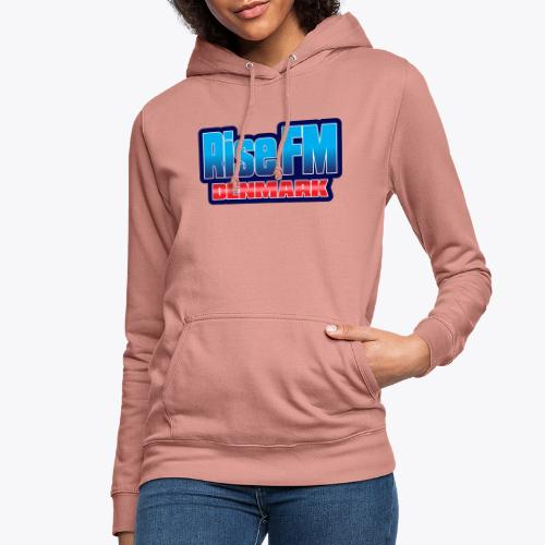 Rise FM Denmark Text Only Logo - Dame hoodie