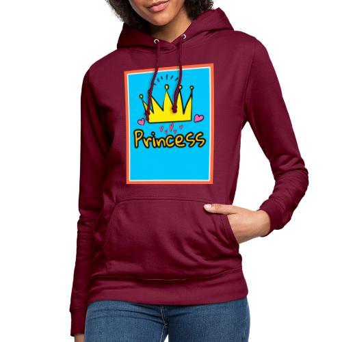 Princess - Sudadera con capucha para mujer