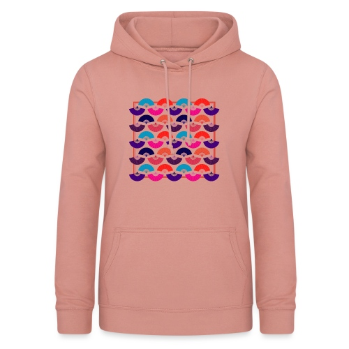CR - Neon Fan - Sudadera con capucha para mujer