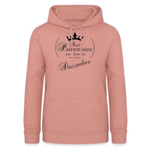 Real Princesses black December - Frauen Hoodie