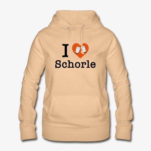 I love Schorle – Dubbeglas - Frauen Hoodie