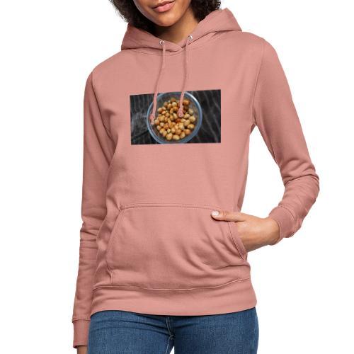Cacahuate - Sudadera con capucha para mujer