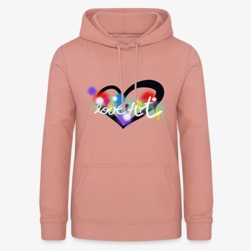 Love Art - Frauen Hoodie