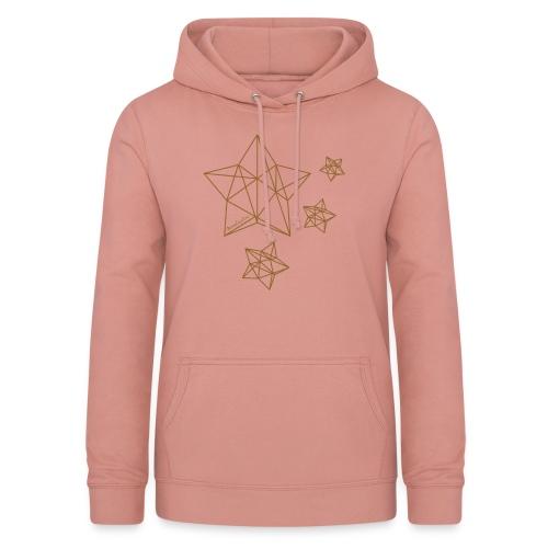 Sternenhimmel Diamant - Frauen Hoodie