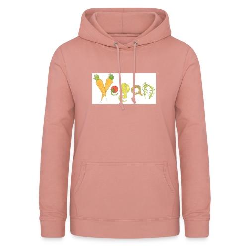 vegan - Sudadera con capucha para mujer