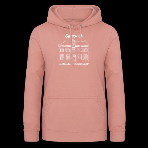See you at Hotel de Tabaksplant WHITE - Women's Hoodie