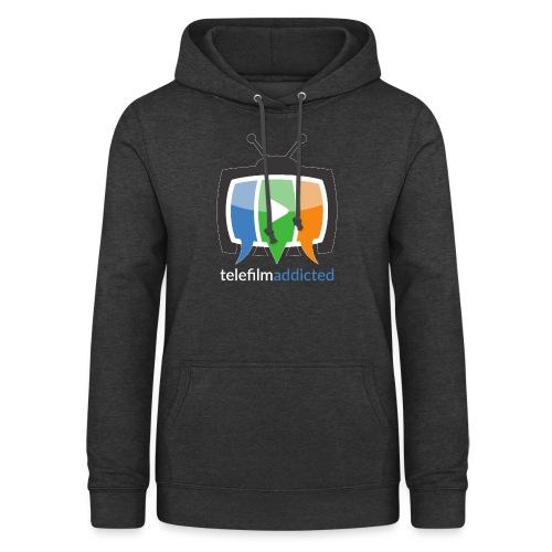 Logo Telefilm Addicted - Felpa con cappuccio da donna