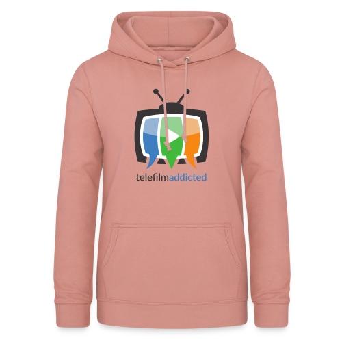 Telefilm Addicted Logo - Felpa con cappuccio da donna