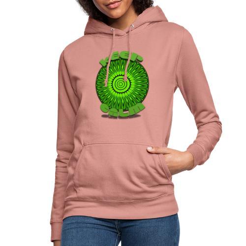 Keep Calm djf - Sudadera con capucha para mujer