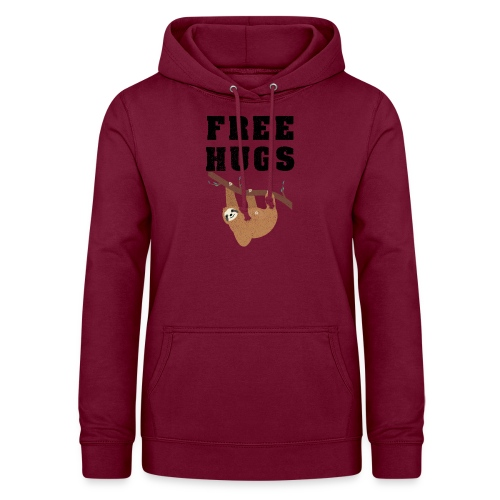 Funny Sloth Quotes - Frauen Hoodie
