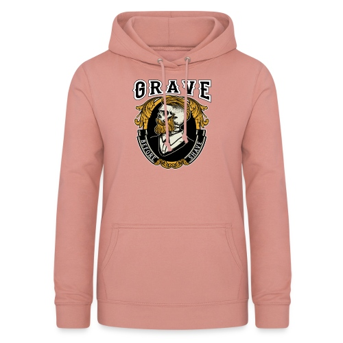 Grave Before Shave Bearded - Frauen Hoodie