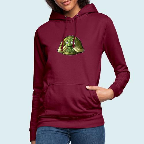 turtle - Felpa con cappuccio da donna