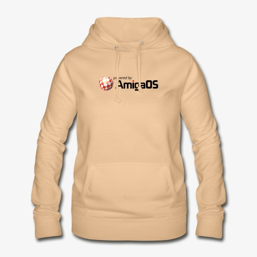 PoweredByAmigaOS Black - Women's Hoodie