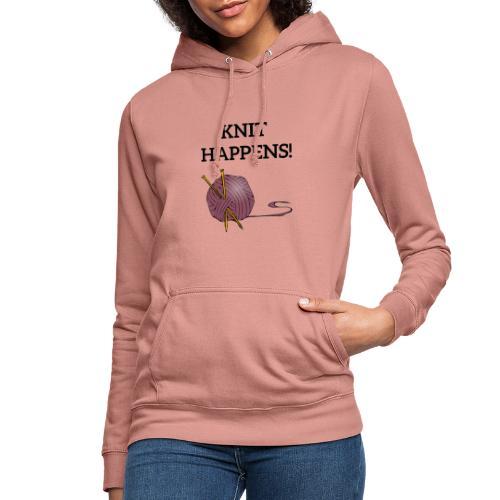 Knit happens - Hettegenser for kvinner