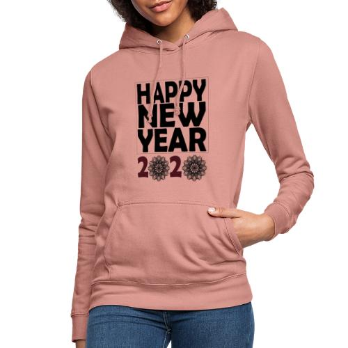 Happy new year 2020 T-shirt - Sweat à capuche Femme