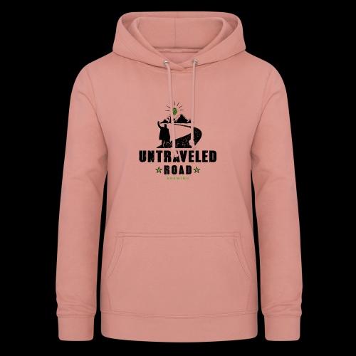 Untraveled Road Logo - black/small - Frauen Hoodie