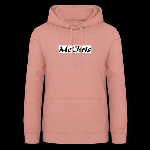 MCCHRIS - Frauen Hoodie