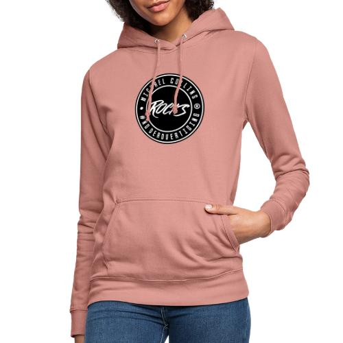 michaelcollins.rocks Logo Patch - Frauen Hoodie