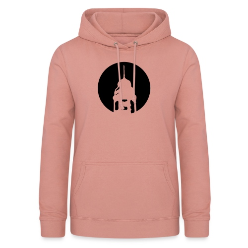 Logo invertiert (Alternative Farben) - Frauen Hoodie