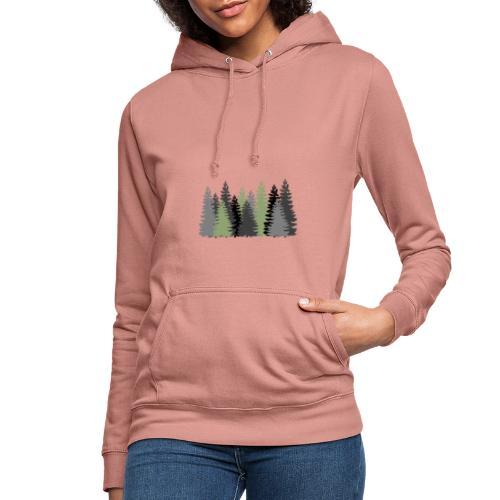 Waldbild - Frauen Hoodie